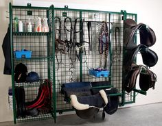small horse stables | Tack rooms that aren't just functional.... aesthetically pleasing!