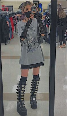 Adrette Outfits, Swaggy Outfits, Retro Outfits, Cute Casual Outfits, Fashion Outfits, Goth Girl Outfits, Pastel Goth Outfits, Gothic Outfits, Aesthetic Grunge Outfit