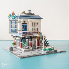 LEGO Bike Shop & Café 31026 MOD and Alternate Build
