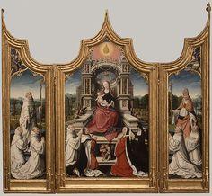 Jean Bellegambe: The Le Cellier Altarpiece (32.100.102)   Heilbrunn Timeline of Art History   The Metropolitan Museum of Art