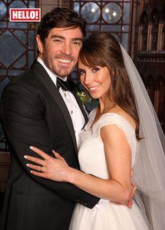 Alex Jones' magical New Year's Eve wedding to Charlie Thomson