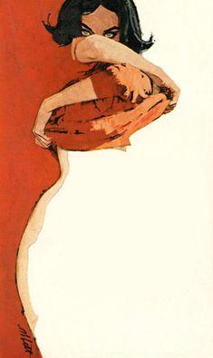 Robert k abbett pulp art Art Inspo, Inspiration Art, Art Pulp, Pulp Fiction Art, Art Sketches, Art Drawings, Pencil Drawings, Art Du Croquis, Art Vintage