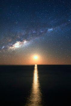 Night & Day — thelavishsociety: Galactic Moon by Gianluca Radano...