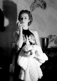 Danielle Darrieux, 1938, photo by Boris Lipnitzki