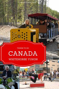 Things to do in Whitehorse, the capital of the Yukon in Canada. Countries Around The World, Around The Worlds, Stuff To Do, Things To Do, Northen Lights, Immigration Canada, Canada Travel, Canada Trip, Western Canada