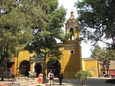 La Iglesia de Santa Catarina es un emblema de la época Virreinal en la Nueva España. Es emblema, también, de la delegación, ya que es uno de los edificios religiosos más antiguos de la Ciudad de México.
