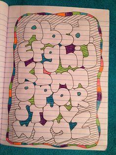 Bubble letters rock.