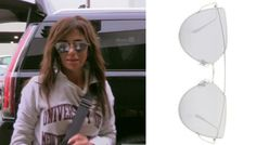 Mirror, mirror ... Get the scoop on Peggy Sulahian's Silver Mirrored Sunglasses here: https://www.bigblondehair.com/peggy-sulahians-silver-mirrored-sunglasses/ #RHOC Real Housewives of Orange County Season 12 Episode 15