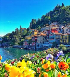 Varenna, Lake Como, Italy - adding it to the bucket list! Photo by: Explore. Italy Vacation, Vacation Spots, Italy Travel, Siena Toscana, Tuscany, Places To Travel, Places To See, Beautiful World, Beautiful Places