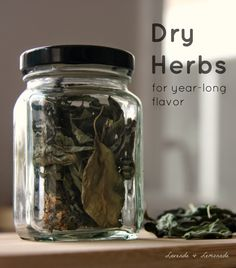 Lavende and Lemonade: How to Dry Herbs - the simple way!