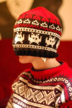 by Arne og Carlos-lue Flickr Wool Hats, Knitted Hats, Arne And Carlos, Scarfs, Knits, Nerd, Gloves, Beanie, Textiles