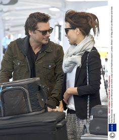 Lentekriebels: 5x celebs in love at the airport #snapshots