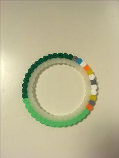 Pärlplatta Ring