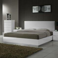 J&M Furniture Naples Platform Bed