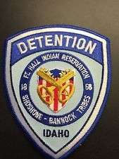Ft Hall tribal Police PATCH (Indian tribal)