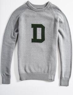 Cotton Dartmouth Heritage Sweater (Gray)