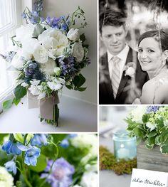 Bluebells, White Peonies and Purple Scabiosa 1920s Wedding, Post Wedding, Wedding Stuff, Wedding Flowers, Blue Bell Flowers, Tree Wedding Invitations, Delphiniums, Wedding Inspiration, Wedding Ideas