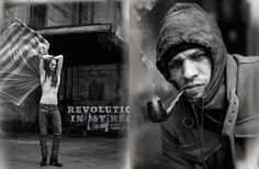 Revolution in my Head by Guzman #portrait #photography #people #editorial