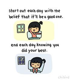 Knowing you did your best :)