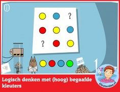 Logisch denken met (hoog)begaafde kleuters op digibord of computer, kleuteridee, Preschool math for IBW or computer Math For Kids, Fun Math, Activities For Kids, Special Educational Needs, Math Help, Primary School, Computer, Kids Gifts, Teaching Kids