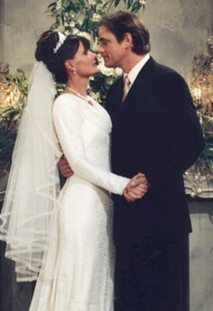 Lucy Coe and Dr. Kevin Collins General Hospital #wedding
