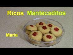 How to make Mantecaditos or Puertorican Shortbread Cookies - YouTube