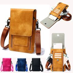 dedf233eb4a248 Hot-sale designer Vintage PU Leather Card Holder 6inch Phone Bag Shoulder  Bag Crossbody Bags Online - NewChic Mobile