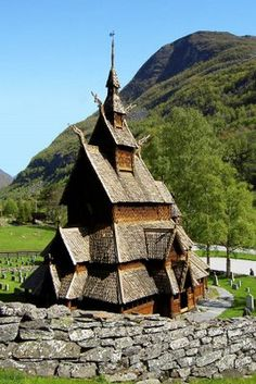Photo of the Week – Stave Church (Borgund, Norway)   Travel Wonders of the World