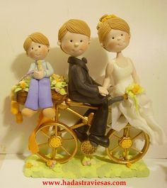 novios en bicicleta by hadastraviesas, via Flickr