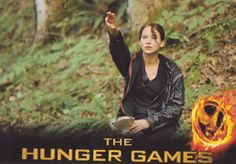 Katniss Trading Card