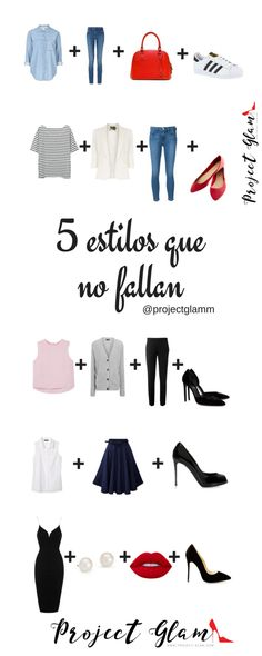 5 estilos que no fallan — Project Glam