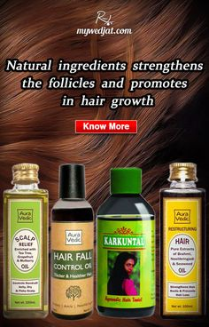 Herbal oils which improvises the quality of hair and hair growth