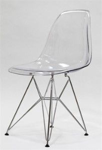 Charmant Clear Plastic Chair