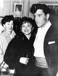 Elvis with fan