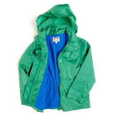 lollie : Appaman Windbreaker in Seagrass - E5WB-SEA-A $56.00