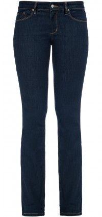 Straight leg in blue premium denim