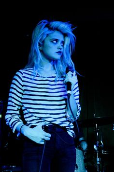 Sky Ferreira opening for How To Dress Well at Seattle's Barbooza 4/6/13