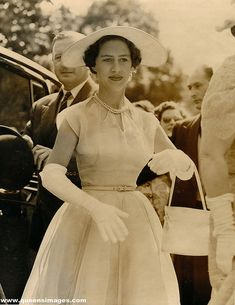Princess Margaret attended wedding one of her friend