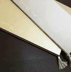 Luxury Menu Card.  www.lamanufacture.net