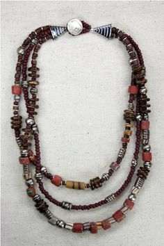 Tribe Necklace available at bevsbeadz.com