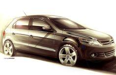 VW Design Sketch by Rodrigo Maggi