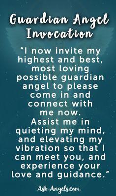 Guardian Angel Invocation