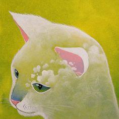 Raphaël Vavasseur Art — LITTLE SHY CLOUD - Raphaël VAVASSEUR - Peinture...