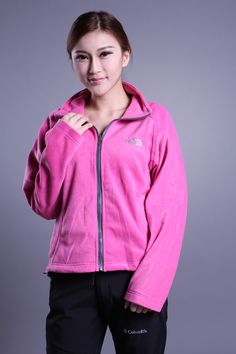 The North Face Osito Fleece Womens Jackets Pink $68.99