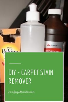 DIY – Carpet Stain Remover