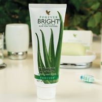 An Aloe based toothgel with the same anti-bacterial property as fluoride based toothpaste but without fluoride! It contains no bleaching agents. Its non-abrasive formula includes Aloe Vera and bee propolis. Given Aloe's unique property in stimulating cell regeneration and wound healing, it is particularly good for sensitive teeth or bleeding gums. Forever Bright does not merely contain Aloe. Check for the ingredient list. You'll find that Aloe is the primary ingredient of this superb…