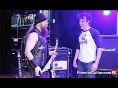 One of modern metal's most influential shredders takes us behind the curtain to show us the namesake gear powering his over-the-top tone. Baritone Guitar, Guitar Rig, Zakk Wylde, Over The Top, Rigs, Rock And Roll, Concert, Youtube, Campaign