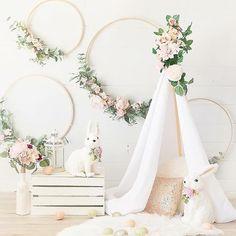 Faux Pink Peony Garland - New Deko Sites Boho Baby Shower, Girl Shower, Bridal Shower Decorations, Birthday Decorations, Wedding Decorations, Girl Nursery, Girl Room, Nursery Decor, Foto Baby