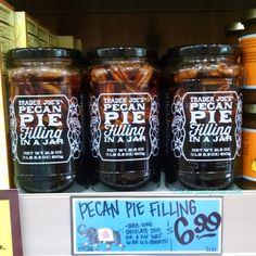 Trader Joe's Pecan Pie Filling in a Jar $6.99 トレーダージョーズ ピーカンパイフィリング #traderjoes #pecanpie #トレーダージョーズ #ピーカンパイ