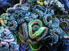 crocheted coral? might be good to use as filler in the reef if there are crafty parents...